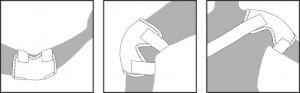 ENERGETIX Magneet Bandage Motion - voor gebruik op knie, schouder en elleboog - Limited Edition