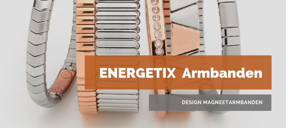 Afbeelding van ENERGETIX Armbanden | Design Magneetarmbanden in de nieuwe ENERGETIX Collectie