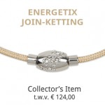 Maandactie December 2017 – verloting ENERGETIX Join ketting t.w.v. € 124-