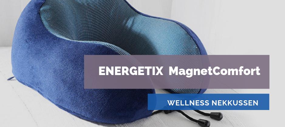 Afbeelding van ENERGETIX MagnetComfort | Het ENERGETIX Nekkussen met Magneten