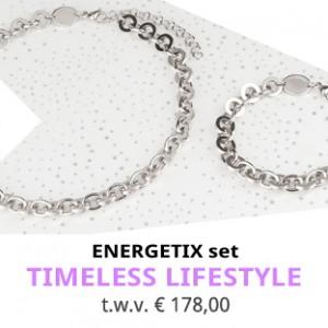 ENERGETIX ACTIE Augustus 2018 | Timeless Lifestyle sieradenset | Energetix Nederland