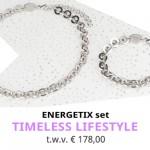 Winnaar ENERGETIX Maandactie Augustus 2018 -Timeless Lifestyle sieradenset t.w.v. € 178,-