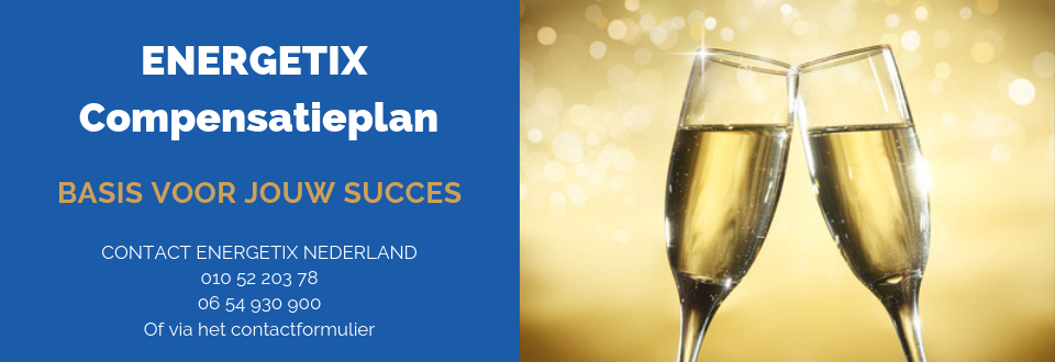 ENERGETIX Compensatieplan | Basis voor jouw Succes