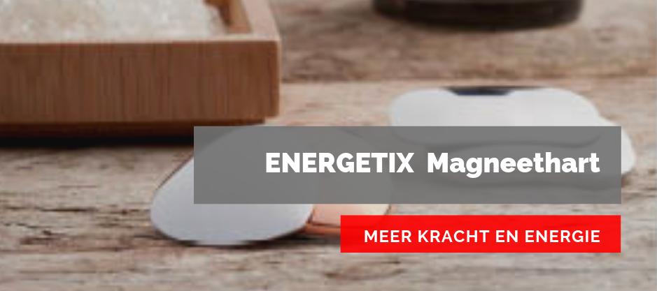 Afbeelding van het ENERGETIX Magneethart oftewel het ENERGETIX Hartje