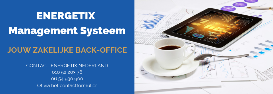 ENERGETIX Management Systeem | Zakelijke Back-Office