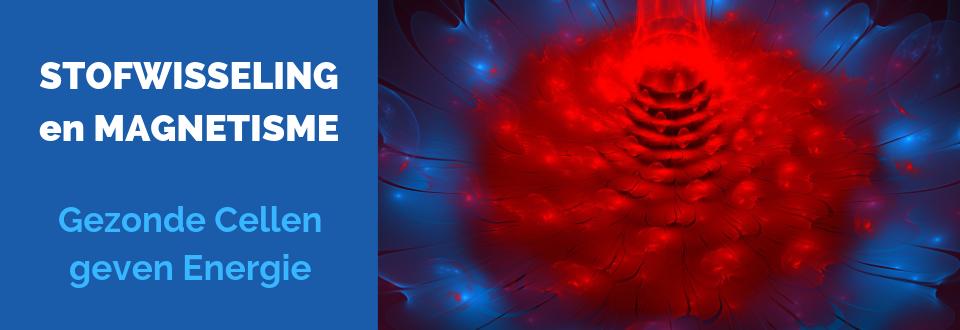 Deze sfeerfoto laat een rode bron van energie zien om aan te geven dat onze Stofwisseling en Magnetisme direct gerelateerd zijn. Ons lichaam is een soort energiecentrale, die door een goed werkende stofwisseling voorzien wordt van de nodige brandstof  | ENERGETIX Magneetsieraden