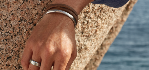Afbeelding van ENERGETIX Armbanden en een ENERGETIX Ring voor Heren uit de nieuwe collectie ENERGETIX Sieraden voor Heren