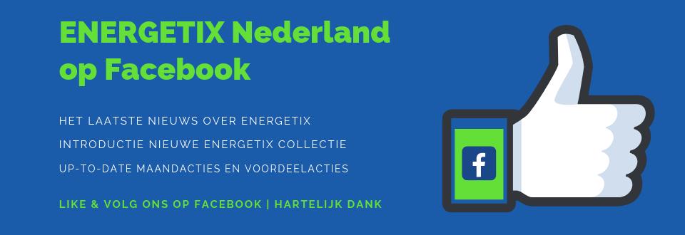 Banner met Facebook duim | Volg het laatste nieuws van ENERGETIX Nederland op Facebook