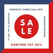 ENERGETIX SALE Zomer 2019 van start