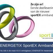 Nieuwe ENERGETIX SportEX nu ook in maat XS-S