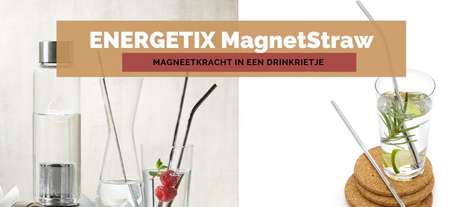 ENERGETIX MagnetStraw | ENERGETIX Drinkrietjes met Magneet