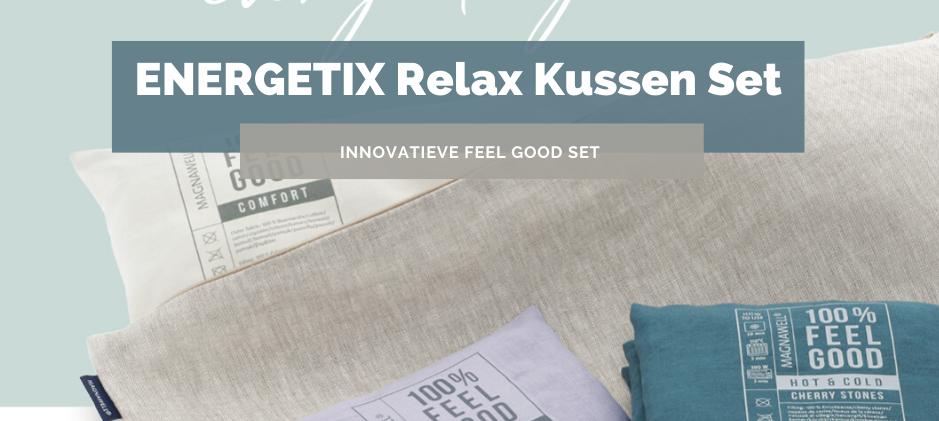 ENERGETIX Relax Kussenset | ENERGETIX's Feel Good Set