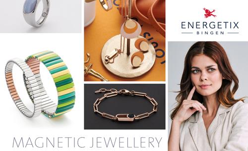 U kunt hier de ENERGETIX Collectie 2020/2021 met alle nieuwe ENERGETIX Sieraden bekijken en bestellen | Hier vindt u een grote nieuwe collectie ENERGETIX Armbanden, ENERGETIX Kettingen met Hangers, ENERGETIX Horloges, ENERGETIX Sportex armbanden, ENERGETIX Magneetarmbandjes voor Kinderen, maar ook magneetaccessoires zoals het ENERGETIX Magneethart